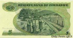 5 Dollars ZIMBABWE  1983 P.02c pr.NEUF