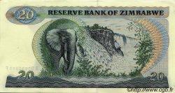 20 Dollars ZIMBABWE  1994 P.04d NEUF