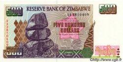 500 Dollars ZIMBABWE  2001 P.10 NEUF
