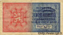 1 Koruna BOHÊME ET MORAVIE  1939 P.01a TB+