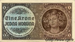 1 Koruna BOHÊME ET MORAVIE  1940 P.03a TTB