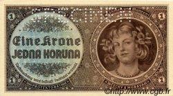 1 Koruna BOHÊME ET MORAVIE  1940 P.03s pr.NEUF