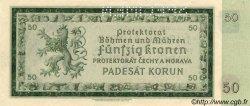 50 Korun BOHÊME ET MORAVIE  1940 P.05s NEUF
