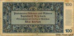 100 Korun BOHÊME ET MORAVIE  1940 P.06a B
