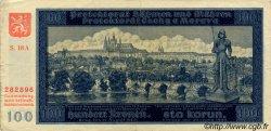 100 Korun BOHÊME ET MORAVIE  1940 P.06a TTB