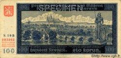 100 Korun BOHÊME ET MORAVIE  1940 P.06s TB