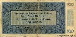 100 Korun BOHÊME ET MORAVIE  1940 P.07a B