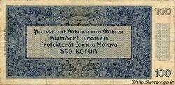 100 Korun BOHÊME ET MORAVIE  1940 P.07a TB