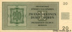 20 Korun BOHÊME ET MORAVIE  1944 P.09a pr.SPL