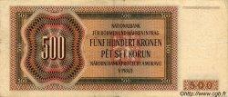 500 Korun BOHÊME ET MORAVIE  1942 P.11a TTB