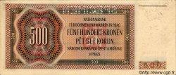 500 Korun BOHÊME ET MORAVIE  1942 P.11s SUP