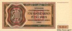 500 Korun BOHÊME ET MORAVIE  1942 P.11s pr.NEUF