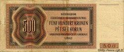 500 Korun BOHÊME ET MORAVIE  1942 P.12a pr.TTB