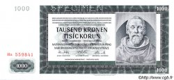 1000 Korun BOHÊME ET MORAVIE  1942 P.15s pr.NEUF