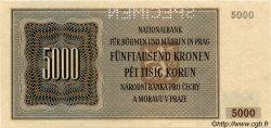 5000 Korun BOHÊME ET MORAVIE  1944 P.17s pr.NEUF