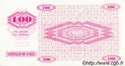 100 Dinara BOSNIE HERZÉGOVINE  1992 P.006r NEUF