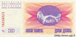 10 Dinara BOSNIE HERZÉGOVINE  1992 P.010a pr.NEUF
