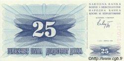 25 Dinara BOSNIE HERZÉGOVINE  1992 P.011a NEUF