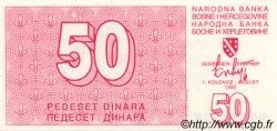 50 Dinara BOSNIE HERZÉGOVINE  1992 P.023a NEUF