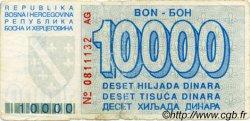 10000 Dinara BOSNIE HERZÉGOVINE  1993 P.028 B+