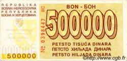 500000 Dinara BOSNIE HERZÉGOVINE  1994 P.032 SUP