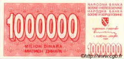 1000000 Dinara BOSNIE HERZÉGOVINE  1994 P.033 NEUF