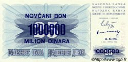 1000000 Dinara BOSNIE HERZÉGOVINE  1993 P.035b NEUF