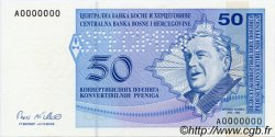 50 Convertible Pfeniga BOSNIE HERZÉGOVINE  1998 P.058s NEUF