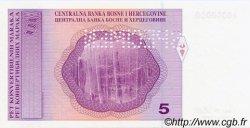 5 Convertible Maraka BOSNIE HERZÉGOVINE  1998 P.061s NEUF