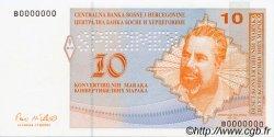 10 Convertible Maraka BOSNIE HERZÉGOVINE  1998 P.063s NEUF