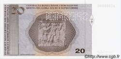 20 Convertible Maraka BOSNIE HERZÉGOVINE  1998 P.065s NEUF