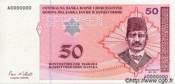 50 Convertible Maraka BOSNIE HERZÉGOVINE  1998 P.067s NEUF