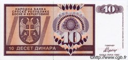 10 Dinara BOSNIE HERZÉGOVINE  1992 P.133s NEUF