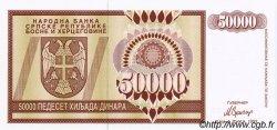 50000 Dinara BOSNIE HERZÉGOVINE  1993 P.140s NEUF