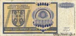 1000000 Dinara BOSNIE HERZÉGOVINE  1993 P.142a TB