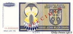 1000000 Dinara BOSNIE HERZÉGOVINE  1993 P.142s NEUF