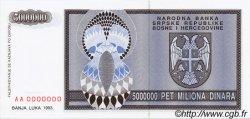 5 000 000 Dinara BOSNIE HERZÉGOVINE  1993 P.143s NEUF