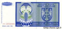 10000000 Dinara BOSNIE HERZÉGOVINE  1993 P.144a NEUF