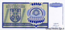 10000000 Dinara BOSNIE HERZÉGOVINE  1993 P.144s NEUF