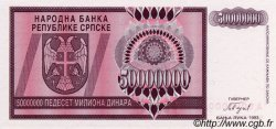 50 000 000 Dinara BOSNIE HERZÉGOVINE  1993 P.145s NEUF