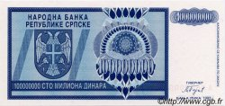 100000000 Dinara BOSNIE HERZÉGOVINE  1993 P.146s NEUF