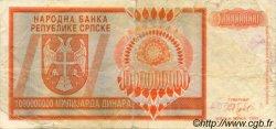 1000000000 Dinara BOSNIE HERZÉGOVINE  1993 P.147a TB+