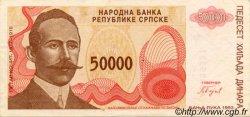 50000 Dinara BOSNIE HERZÉGOVINE  1993 P.150a SUP