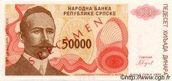50000 Dinara BOSNIE HERZÉGOVINE  1993 P.150s pr.NEUF