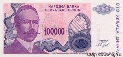 100000 Dinara BOSNIE HERZÉGOVINE  1993 P.151s NEUF