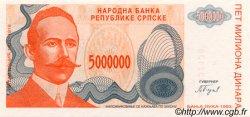 5000000 Dinara BOSNIE HERZÉGOVINE  1993 P.153a NEUF