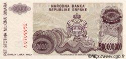 500000000 Dinara BOSNIE HERZÉGOVINE  1993 P.155a NEUF