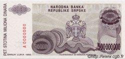 500 000 000 Dinara BOSNIE HERZÉGOVINE  1993 P.155s NEUF