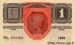 1 Kruna BOSNIE HERZÉGOVINE Sarajevo 1916 P.-- SPL