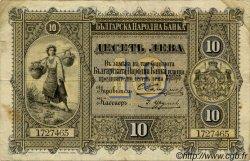 10 Leva Srebro BULGARIE  1899 P.A07 pr.TTB